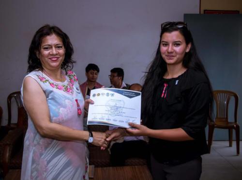 Susmita BogatiLeo Club Kathmandu